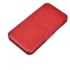 Чехол-книга для Apple iPhone 11 Pro Puloka (красный)  с защитой камеры, экрана и внешнего динамика
