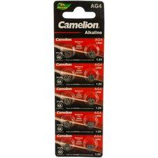 Батарейка для часов Camelion  AG4 BL-10 377A / LR626 / 177 Mercury Free