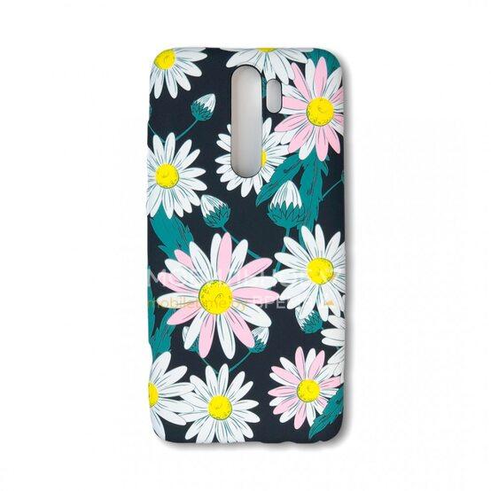 Силиконовый чехол для Xiaomi Redmi Note 8 Pro. Luxo. Flowers. Ромашки.