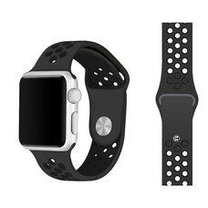 Ремешок для Apple Watch 38/40mm NiKE (упак. картон) черный-черный