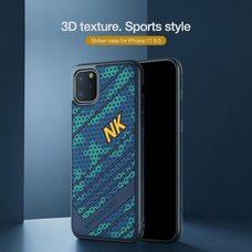 Чехол-накладка для Apple iPhone 11 Pro max Nillkin Striker Case (Blue-green)