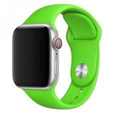 Ремешок для Apple Watch 38/40mm SPORT (упак. картон) №31 травяной