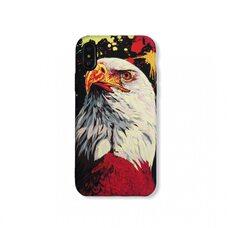 Ультратонкий чехол-накладка для Apple iPhone X/Xs. Luxo. Animals. Орёл