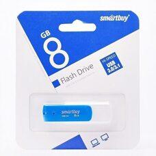 USB флеш-накопитель Smartbuy 8GB Diamond series (синий) USB 3.0