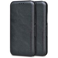 Чехол-книга для Apple iPhone 11 Pro Puloka (черный) с защитой камеры, экрана и внешнего динамика